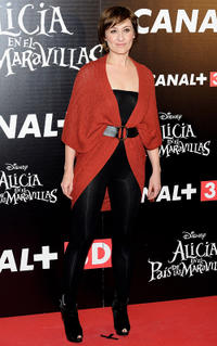 Nathalie Poza at the premiere of