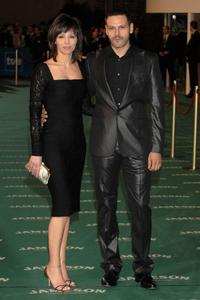 Ana Alvarez and Roberto Enriquez at the Goya Cinema Awards ceremony.