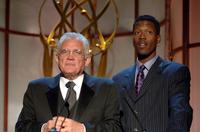 G.W. Bailey and Corey Reynolds at the ATAS Foundation's 28th Annual College Television Awards at The Culver Studios.