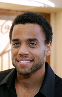 Michael Ealy at the Showtime Championship Boxing Hosts No Risk No Reward Tailgate Party.