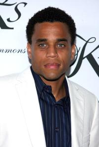 Michael Ealy at the Kimora Lee Simmons debut of her KLS Collection party.
