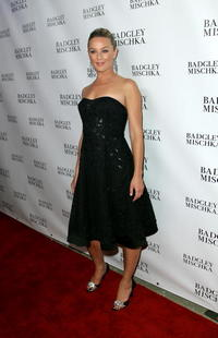 Elisabeth Rohm at the celebration for Teri Hatcher's new Badgley Mischka marketing campaign.