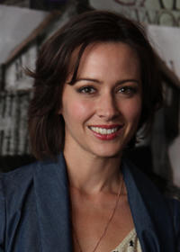 Amy Acker at the LA premiere of