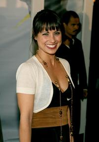 Constance Zimmer at the Mercedes-Benz Fashion week.