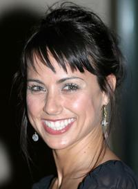 Constance Zimmer at the Fifth Annual Hollywood Makeup Artist and Hairstylist Guild Awards.