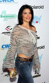 Lauren Sanchez at the launch of