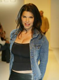 Lauren Sanchez at the Mercedes-Benz Fashion Week.