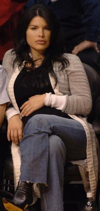 Lauren Sanchez at the NBA playoffs.