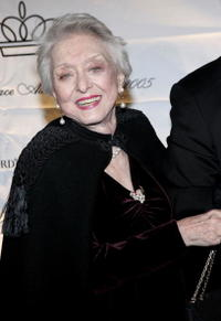 Celeste Holm at the 2005 Princess Grace Foundation-USA Awards Gala.