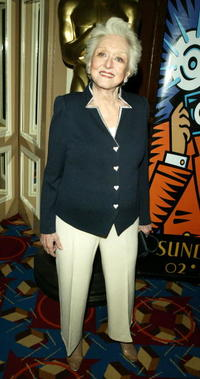 Celeste Holm at the AMPAS Official Oscar Night Celebration.