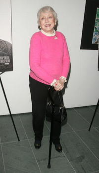 Celeste Holm at the special screening of