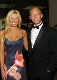 Nikki Ziering and Ian Ziering at the 5th annual Hollywood Film Festival Awards Gala.