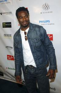 Lyriq Bent at the premiere of
