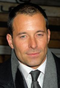 Johnny Messner at the EMA & E! Golden Green After Party.