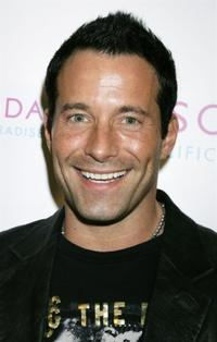 Johnny Messner at the launch party for Escada's newest scent,