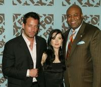 Johnny Messner, Marguerite Moreau and Chi McBride at the Fox upfront.