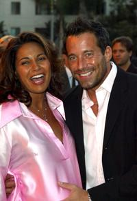 Johnny Messner and Salli Richardson-Whitfield at the Los Angeles screening of