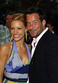 Johnny Messner and Kadee Strickland at the Los Angeles screening of