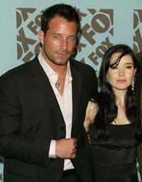 Johnny Messner and Marguerite Moreau at the Fox upfront.
