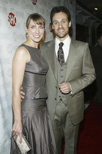 Caroline Blakeslee and Henri Lubatti at the California premiere of