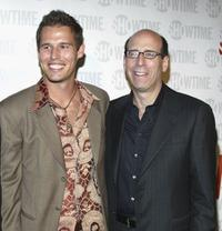 Alex Nesic and Matt Blank at the premiere of