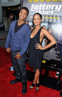 Cory C. Hardrict and Tia Mowry at the California premiere of