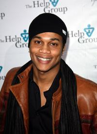 Cory C. Hardrict at the Help Group's Teddy Bear Ball.