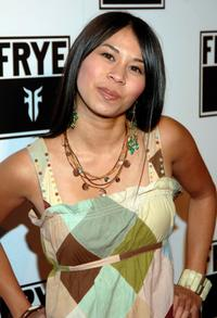 Camille Mana at the LA Fashion Week Party.