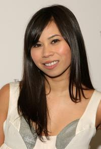 Camille Mana at the screening of