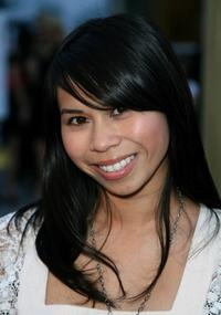 Camille Mana at the premiere of