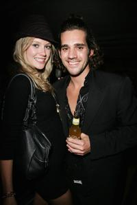 Ally Lee and Clayton Watson at the after party of the MTV Australia Awards 2008.