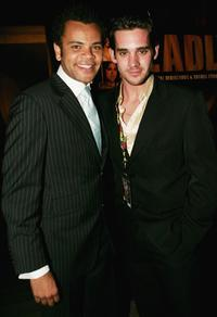 Luke Carroll and Clayton Watson at the 2005 Deadly Awards.