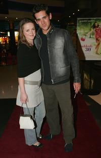 Josie McNamus and Clayton Watson at the premiere of