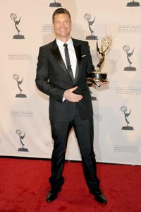Ryan Seacrest at the 62nd Primetime Creative Arts Emmy Awards.