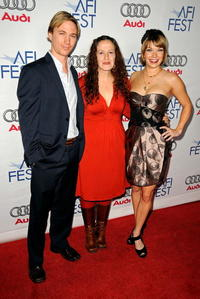 Cy Carter, Mo Perkins and Mary Elizabeth Ellis at the 2008 AFI Fest.