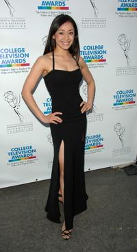 Aimee Garcia at the ATAS Foundations 28th Annual College Television Awards.