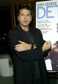 A.J. Benza at the Bill Maher And Details Magazine New Column Party.