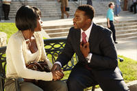 Viola Davis as Ellen and Derek Luke as Joshua Hardaway in