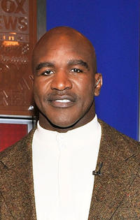 Evander Holyfield at the