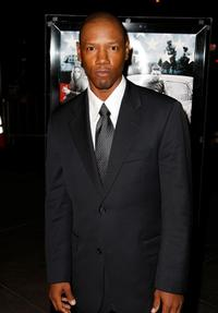Tory Kittles at the premiere of