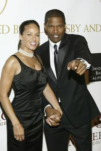 Leila Arcieri and Jamie Foxx at the