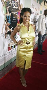 Leila Arcieri at the premiere of