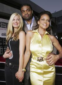 Brooke D' Orsay, Jeff Byrd and Leila Arcieri at the premiere of