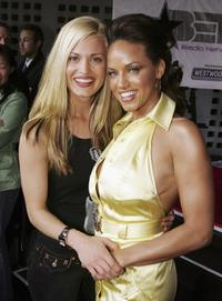 Brooke D' Orsay and Leila Arcieri at the premiere of