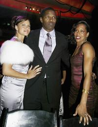 Leila Arcieri, Jamie Foxx and Regina King at the after party of the premiere of