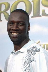 Omar Sy at the premiere of