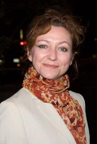 Julie White at the New York opening of