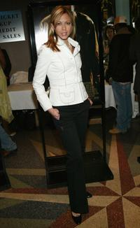 Jennifer Sky at the New York premiere of