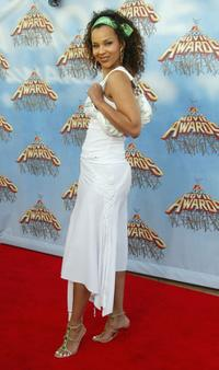 LisaRaye at the 2005 MTV Movie Awards.