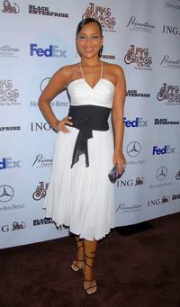 LisaRaye at the Black Enterprises Top 50 Hollywood Power Brokers Celebration.